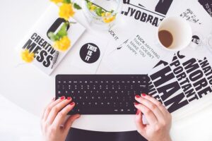 Online transcription jobs can be taken up by freelance writers