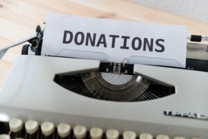 Donations are only way non-profit foundation works